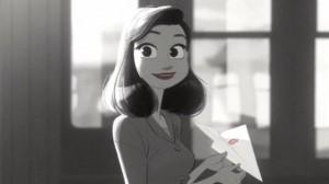 دانلود انیمیشن کوتاه Paperman | تاپ 2 دانلود