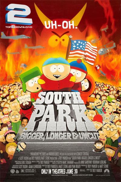 دانلود انیمیشن South Park Bigger Longer and Uncut | تاپ 2 دانلود
