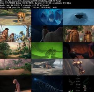 دانلود دوبله فارسی انیمیشن Ice Age 3 Dawn of the Dinosaurs | تاپ 2 دانلود