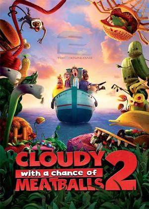 دانلود انیمیشن Cloudy with a Chance of Meatballs 2 2013 | تاپ 2 دانلود