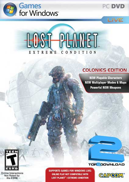 Lost Planet Extreme Condition Colonies | تاپ 2 دانلود