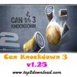 دانلود بازی Can Knockdown 3 v1.25 برای اندروید