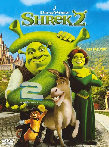 دانلود دوبله فارسی انیمیشن شرک 2 Shrek 2 | تاپ 2 دانلود