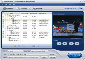 Aimersoft Video Converter | تاپ 2 دانلود