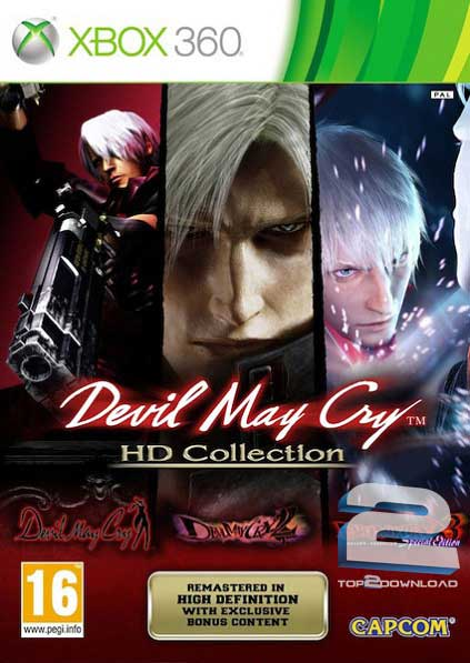 Devil May Cry HD Collection   تاپ 2 دانلود