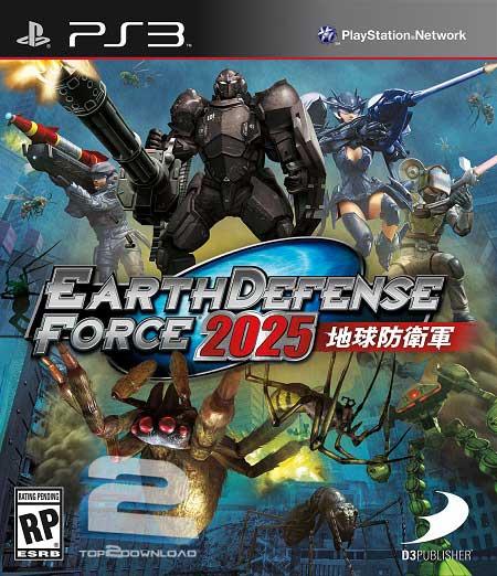 Earth Defense Force 2025 | تاپ 2 دانلود