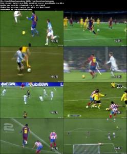 Lionel Messi Legendary Skills   تاپ 2 دانلود