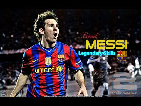 Lionel Messi Legendary Skills | تاپ 2 دانلود