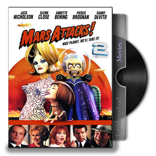 دانلود فیلم Mars Attacks   تاپ 2 دانلود