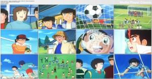 دانلود دوبله فارسی انیمیشن سریالی فوتبالیست ها Captain Tsubasa   تاپ 2 دانلود