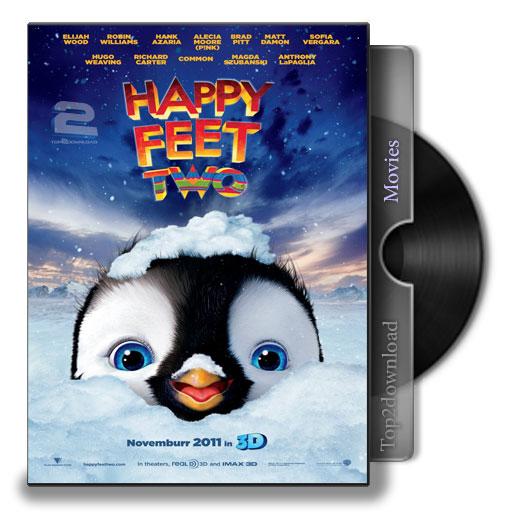 دانلود دوبله فارسی انیمیشن Happy Feet Two | تاپ 2 دانلود