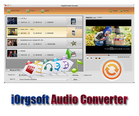 iOrgsoft Audio Converter | تاپ 2 دانلود