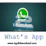 دانلود نرم افزار What's App Messenger v2.11.171 برای اندروید