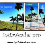 دانلود نرم افزار InstaWeather Pro v3.4.8 برای اندروید