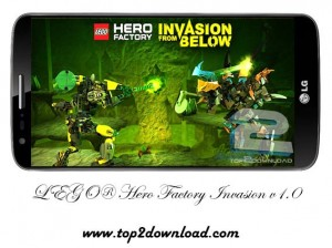LEGO® Hero Factory Invasion v1.0 | تاپ 2 دانلود