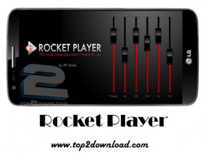 دانلود نرم افزار Rocket Music Player Premium 3.0.1.10 اندروید