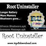 دانلود نرم افزار Root Uninstaller Pro v5.4 برای اندروید