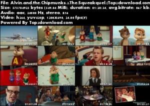 دانلود دوبله فارسی انیمیشن Alvin and the Chipmunks 2 The Squeakquel | تاپ 2 دانلود