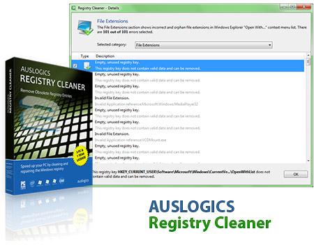 Auslogics Registry Cleaner | تاپ 2 دانلود