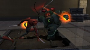دانلود بازی Ben 10 Ultimate Alien Cosmic Destruction برای PSP   تاپ 2 دانلود