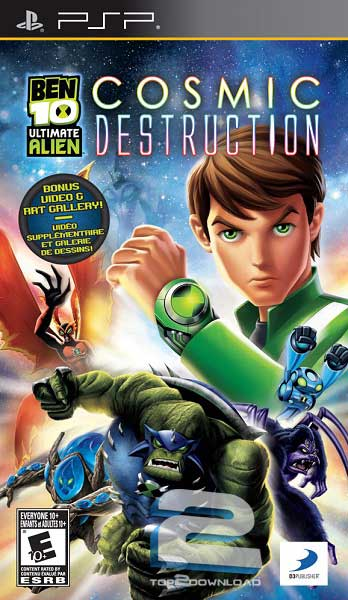 Ben 10 Ultimate Alien Cosmic Destruction | تاپ 2 دانلود