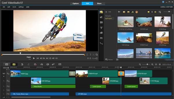 Corel VideoStudio Pro x7   تاپ 2 دانلود