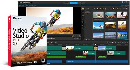 Corel VideoStudio Pro x7 | تاپ 2 دانلود