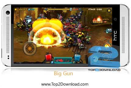 Big Gun برای اندروید | تاپ2دانلود