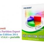 دانلود نرم افزار مدیریت هارد دیسک Macrorit Disk Partition Expert 3.4.4