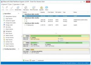 Microrit Disk Patition Expert Screen | تاپ 2 دانلود