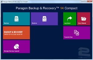 Paragon Backup & Recovery   تاپ 2 دانلود