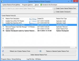 Restore Point Creator   تاپ 2 دانلود