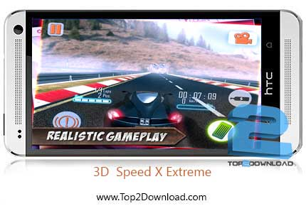 Speed X Extreme 3D Car Racing | تاپ2دانلود