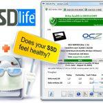 دانلود نرم افزار آگاهی از میزان سلامت حافظه های SSDLife Pro 2.5.67 SSD