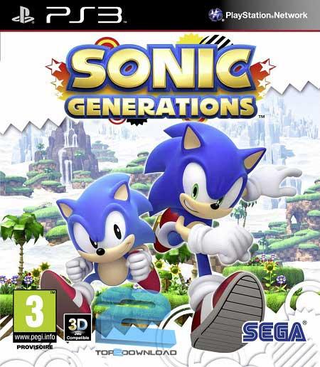 Sonic Generations | تاپ 2 دانلود