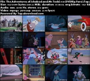 دانلود دوبله فارسی انیمیشن The Adventures of Ichabod and Mr Toad   تاپ 2 دانلود