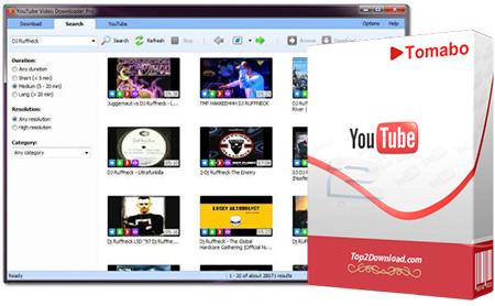 Tomabo YouTube Video Downloader Pro   تاپ 2 دانلود