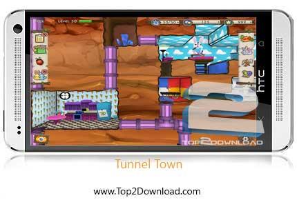 Tunnel Town v1.3 | تاپ2دانلود