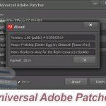 دانلود فعال ساز تمامی نرم افزار های ادوبی Universal Adobe Patcher 1.2