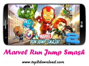 Marvel Run Jump Smash | تاپ 2 دانلود