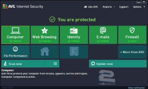 AVG Internet Security 2014 | تاپ 2 دانلود
