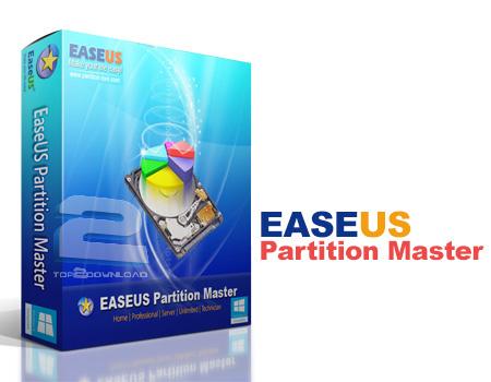EASEUS Partition Master | تاپ 2 دانلود