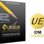دانلود نرم افزار ویرایش متن و کد IDM UltraEdit 21.20.0.1014