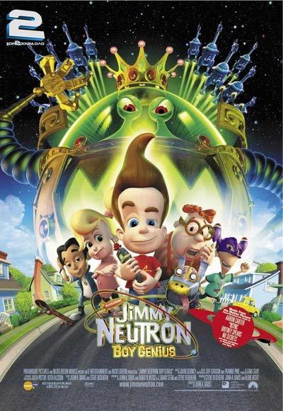 دانلود دوبله فارسی انیمیشن جیمی نوترون Jimmy Neutron Boy Genius   تاپ 2 دانلود