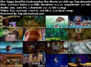دانلود انیمیشن Oggy And The Cockroaches The Movie 2013 | تاپ 2 دانلود