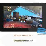 دانلود بازی RAGING THUNDER 2 V1.0.15 برای اندروید