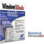 دانلود نرم افزار تغییر ظاهر ویندوز Stardock WindowBlinds 8.04