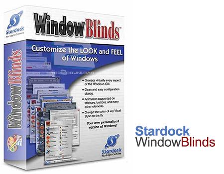Stardock WindowBlinds | تاپ 2 دانلود