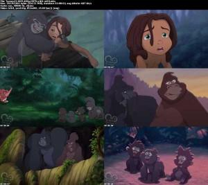 دانلود دوبله فارسی انیمیشن تارزان 2 Tarzan II | تاپ 2 دانلود