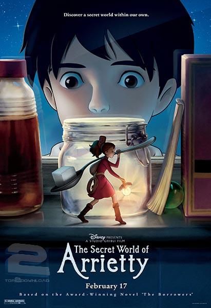 The Secret World of Arrietty | تاپ 2 دانلود